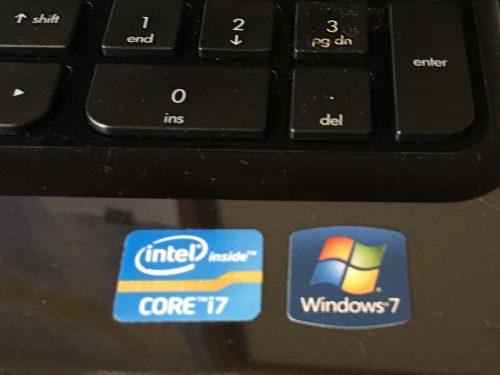 Windows7の場合